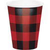 Buffalo Plaid Hot/Cold Paper Cups 9 Oz., 8 ct by Creative Converting