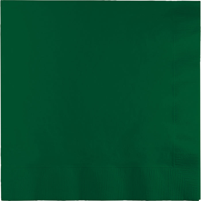 Hunter Green Luncheon Napkin 3Ply, 50 ct by Creative Converting