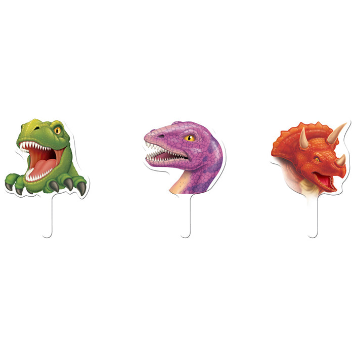 Dinosaur Cupcake Topper, 12 ct by Creative Converting