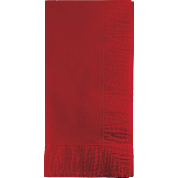Classic Red Dinner Napkins 2Ply 1/8Fld, 50 ct by Creative Converting