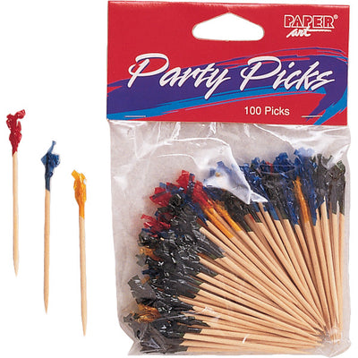 "Wooden Picks Frill, 2.5"", 100 ct by Creative Converting"