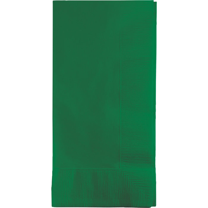 Emerald Green Dinner Napkins 2Ply 1/8Fld, 50 ct by Creative Converting