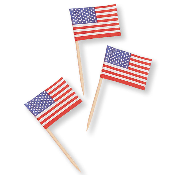 Flag Picks, 50 ct by Creative Converting