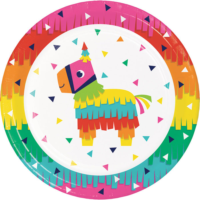 Fiesta Fun Paper Plates, 8 ct by Creative Converting