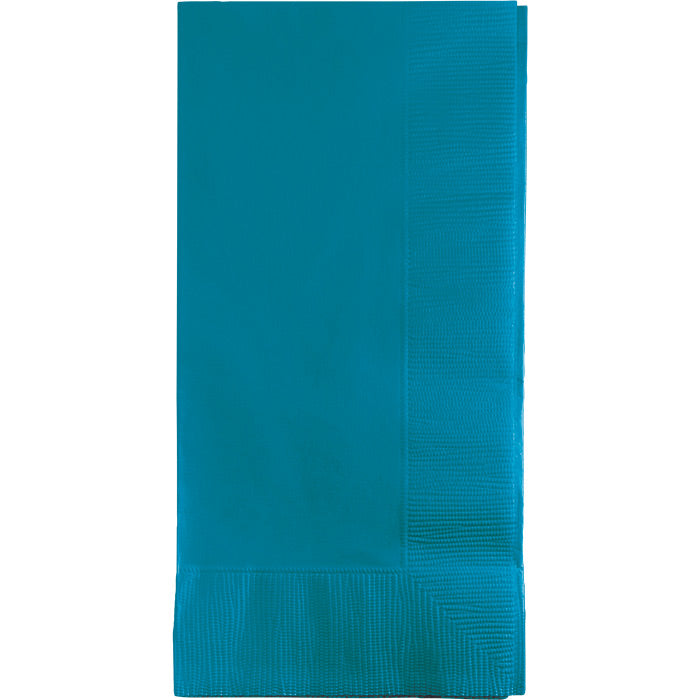Turquoise Dinner Napkins 2Ply 1/8Fld, 50 ct by Creative Converting