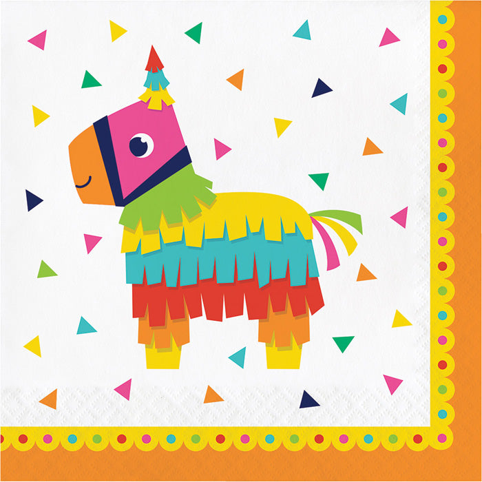 Fiesta Fun Napkins, 16 ct by Creative Converting