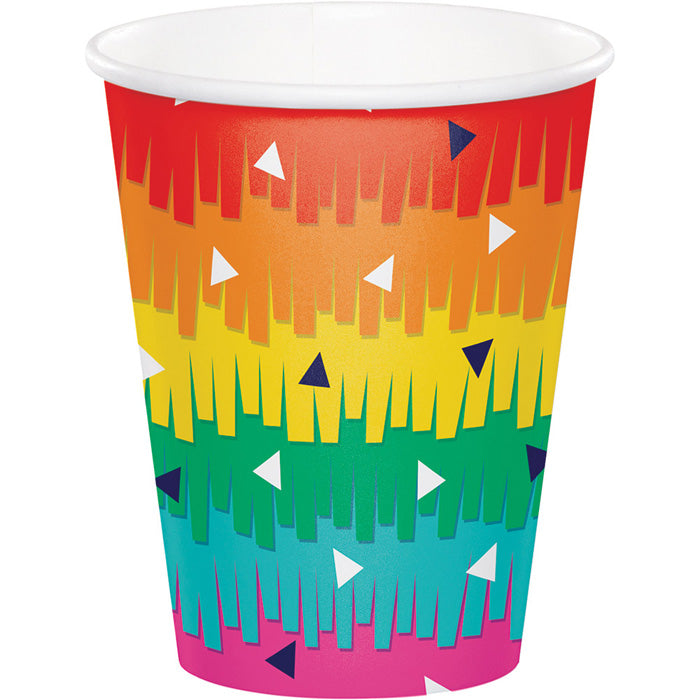 Fiesta Fun Hot/Cold Paper Cups 9 Oz., 8 ct by Creative Converting