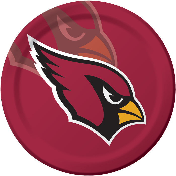 Arizona Cardinals Paper Plates, 8 ct by Creative Converting