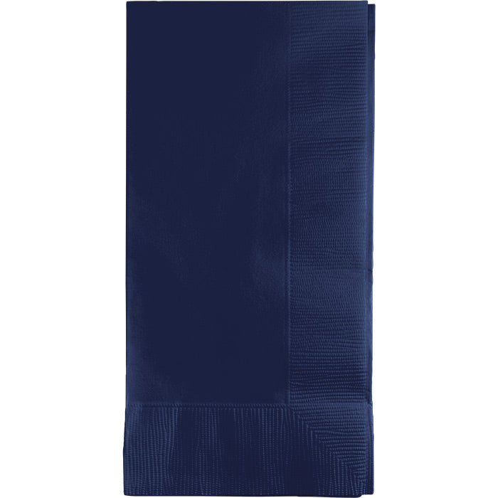 Navy Dinner Napkins 2Ply 1/8Fld, 50 ct by Creative Converting