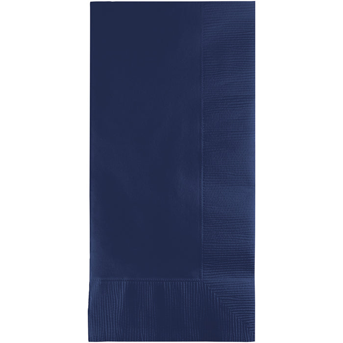 Navy Dinner Napkins 2Ply 1/8Fld, 100 ct by Creative Converting