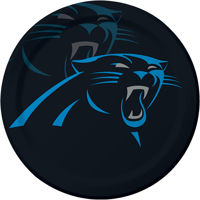 Carolina Panther Paper Plates, 8 ct by Creative Converting