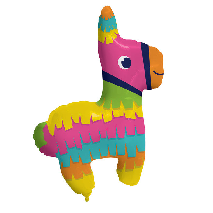 "Fiesta Fun Metallic Balloon Pinata Shaped, 33"" X 25"" by Creative Converting"
