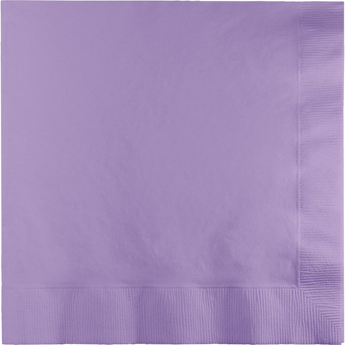 Luscious Lavender Dinner Napkins 3Ply 1/4Fld, 25 ct by Creative Converting