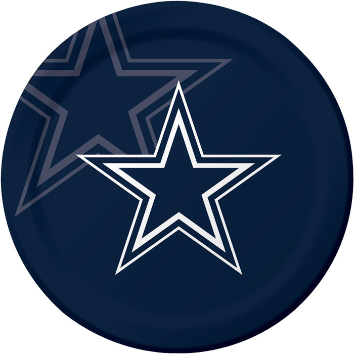 Dallas Cowboys Paper Plates, 8 ct by Creative Converting