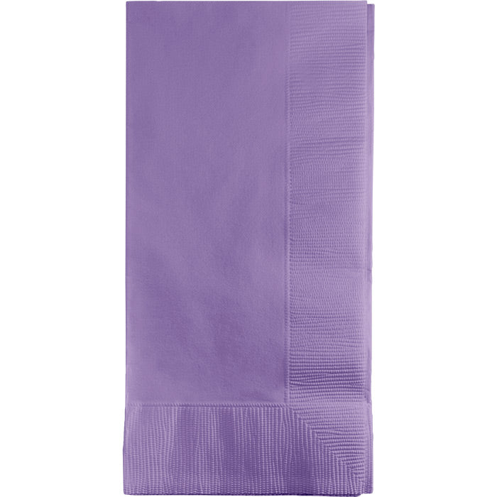 Luscious Lavender Dinner Napkins 2Ply 1/8Fld, 50 ct by Creative Converting