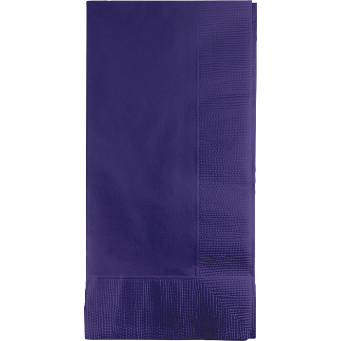 Purple Dinner Napkins 2Ply 1/8Fld, 50 ct by Creative Converting