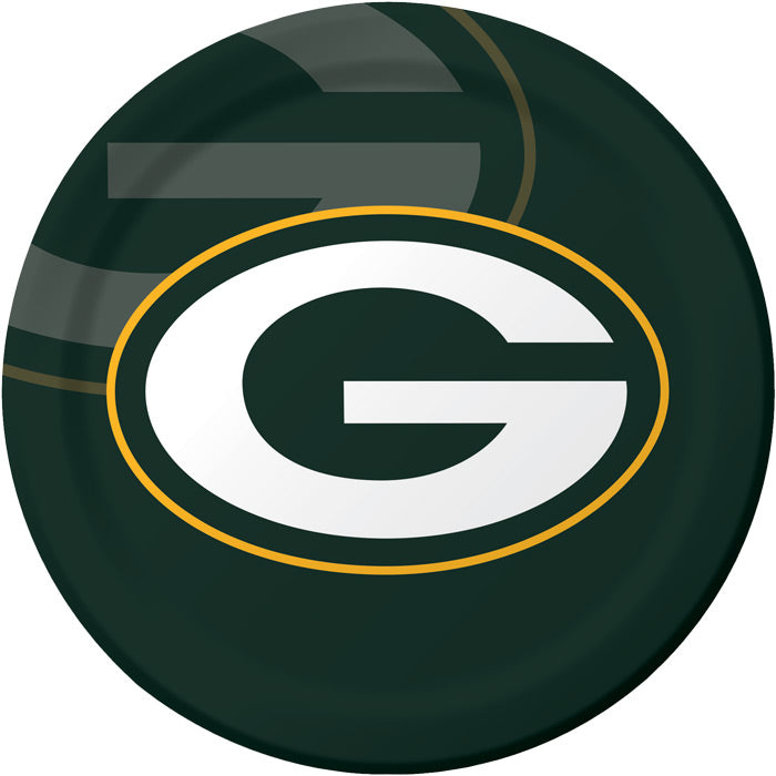 Green Bay Packers Paper Plates, 8 ct by Creative Converting