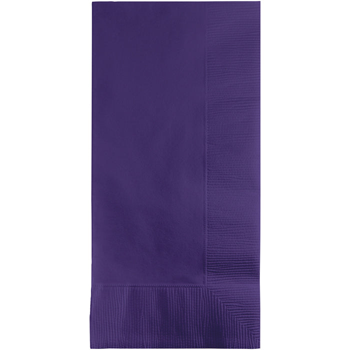 Purple Dinner Napkins 2Ply 1/8Fld, 100 ct by Creative Converting