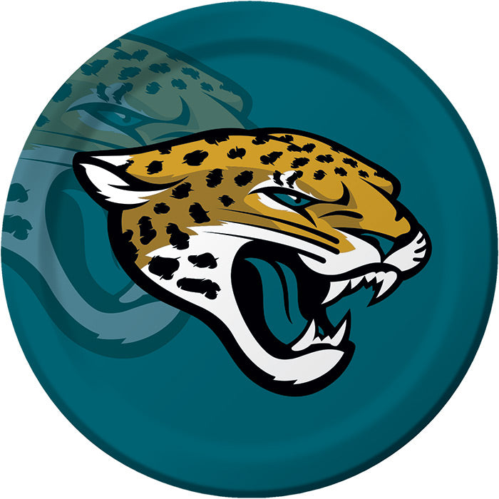 Jacksonville Jaguars Paper Plates, 8 ct by Creative Converting