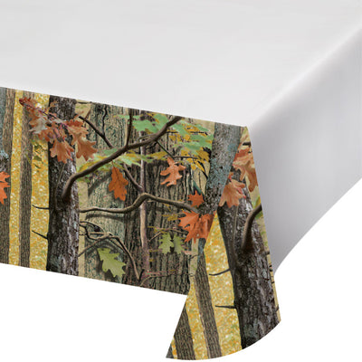 "Hunting Camo Tablecover Plastic 54"" X 102"" by Creative Converting"