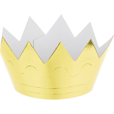 Mini Foil Crown, 6 ct by Creative Converting