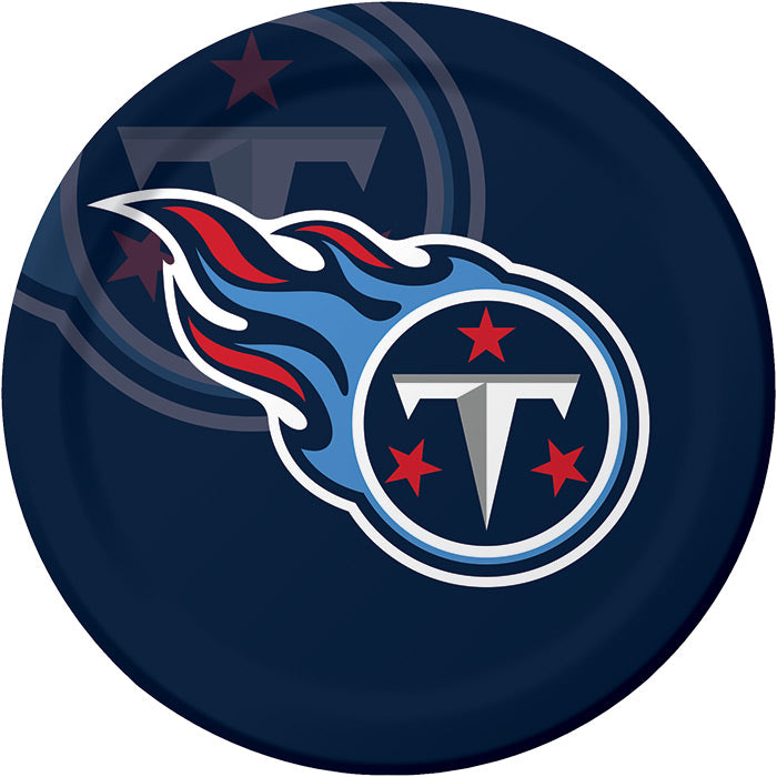 Tennessee Titans Paper Plates, 8 ct by Creative Converting