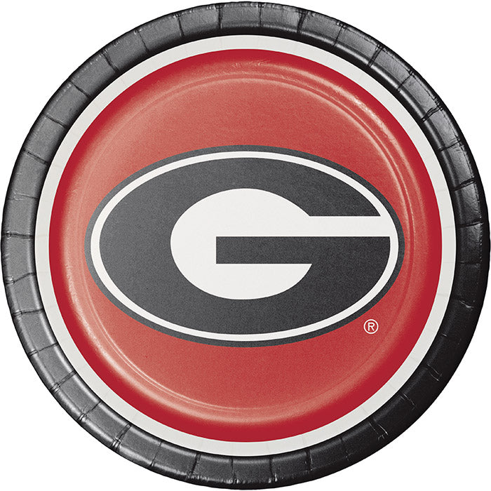 University Of Georgia Paper Plates, 8 ct by Creative Converting