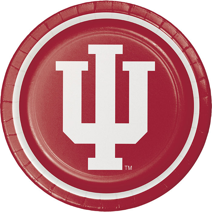 Indiana University Paper Plates, 8 ct by Creative Converting