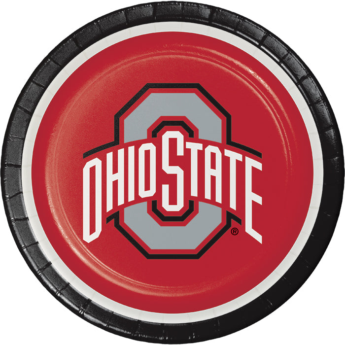 Ohio State University Paper Plates, 8 ct by Creative Converting