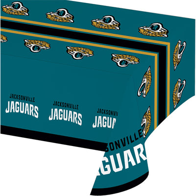 "Jacksonville Jaguars Plastic Tablecloth, 54"" X 108"" by Creative Converting"