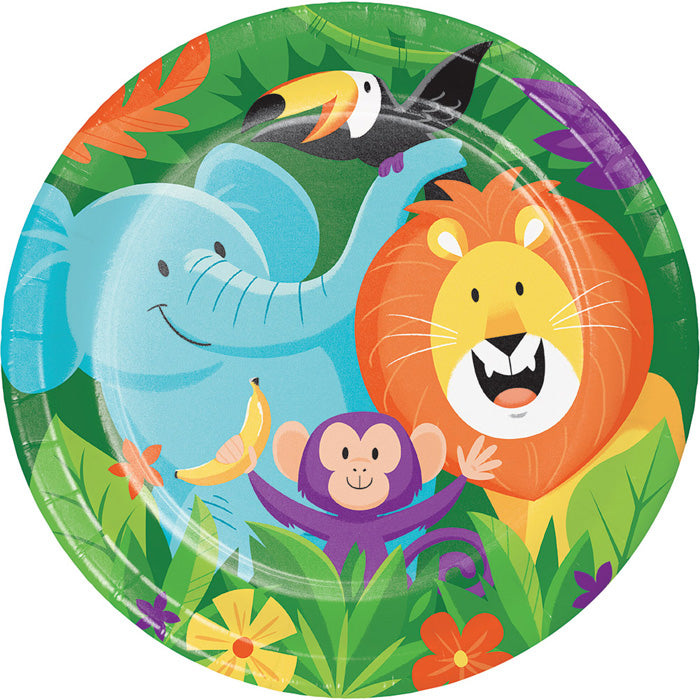 Jungle Safari Paper Plates, 8 ct by Creative Converting