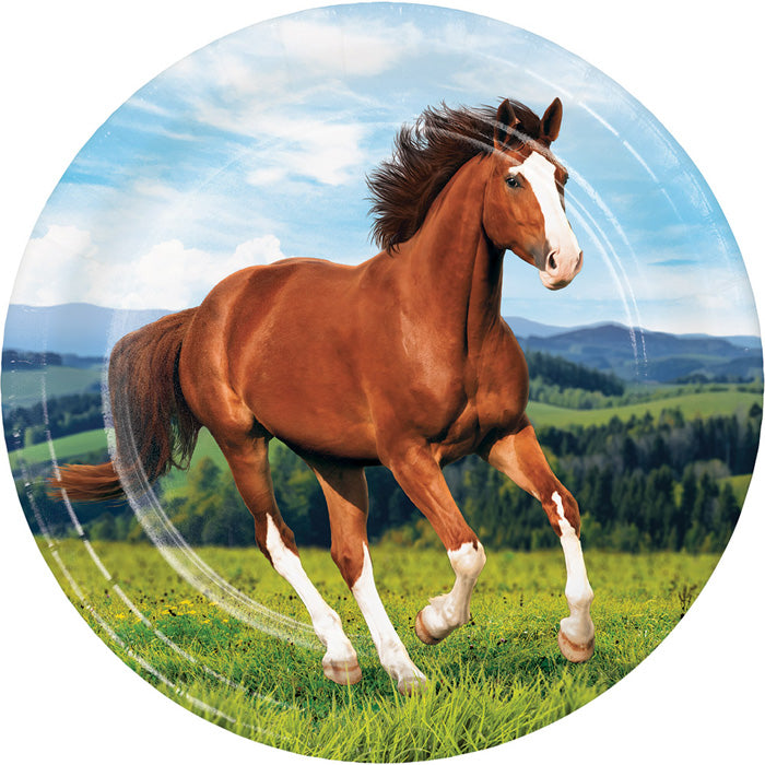 Horse And Pony Paper Plates, 8 ct by Creative Converting