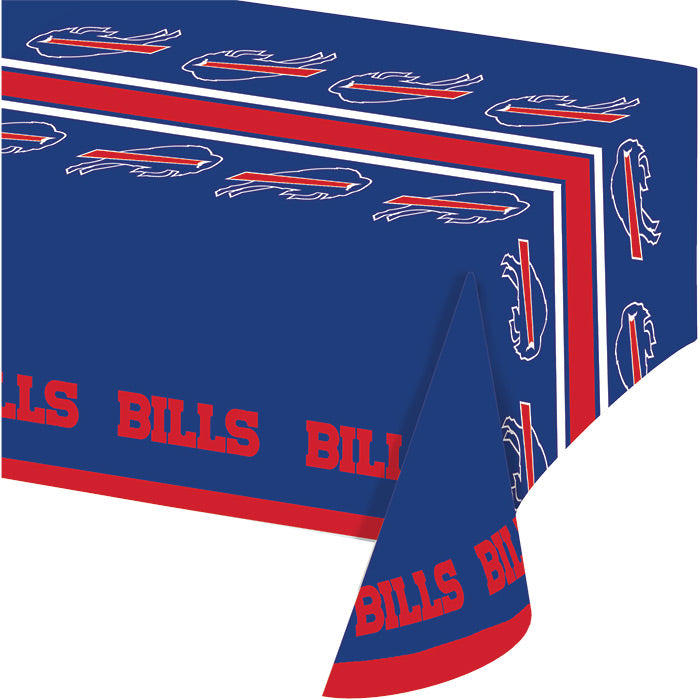 "Buffalo Bills Plastic Tablecloth, 54"" X 108"" by Creative Converting"