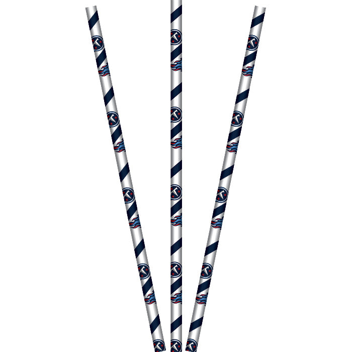 Tennessee Titans Straws, Paper, 24ct by Creative Converting