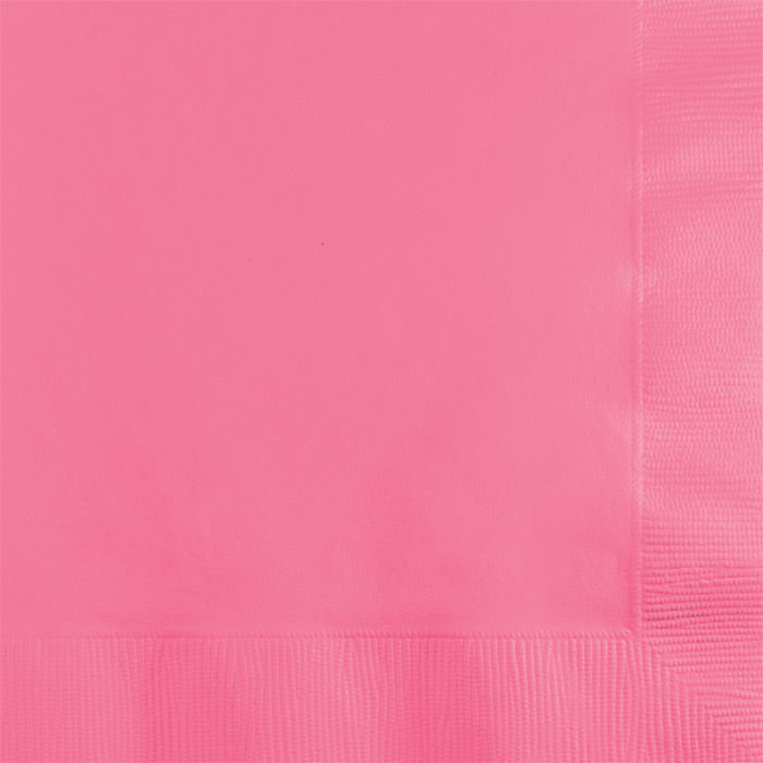 Candy Pink Beverage Napkin 2Ply, 50 ct by Creative Converting