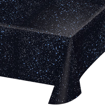 "Space Blast Tablecover Plastic 54"" X 108"" Aop by Creative Converting"