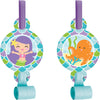 Mermaid Friends Blowouts W/Med, 8 ct by Creative Converting