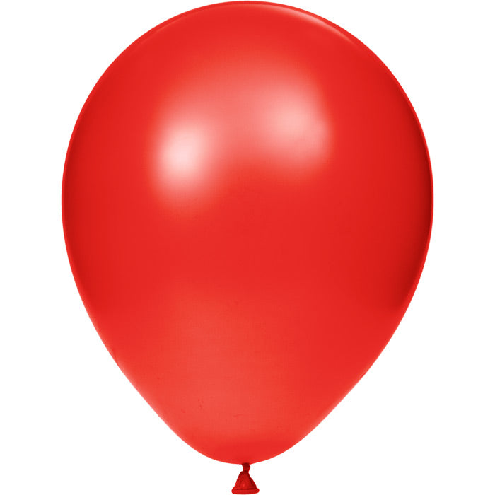 "Latex Balloons 12"" Cl Red, 15 ct by Creative Converting"
