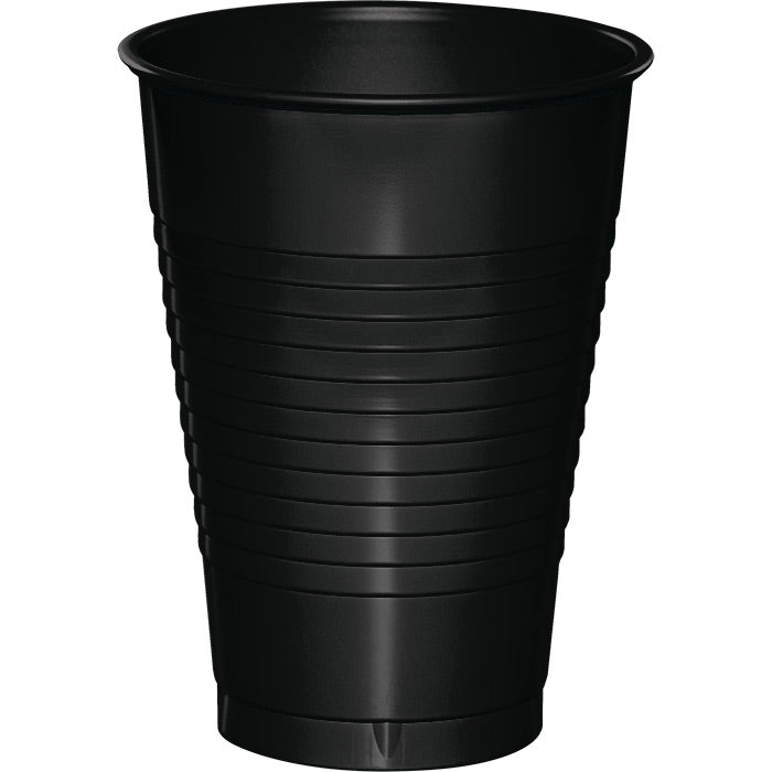 Black 12 Oz Plastic Cups, 20 ct by Creative Converting