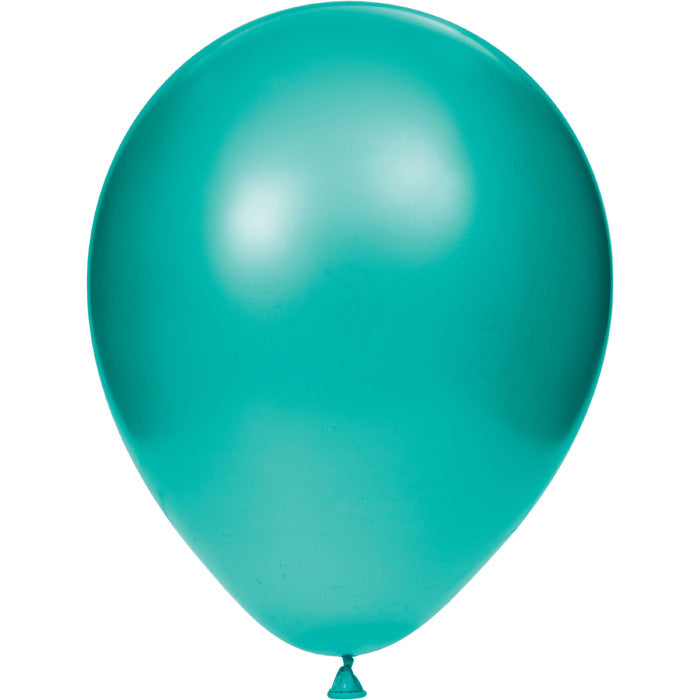 "Latex Balloons 12"" Teal Lagoon, 15 ct by Creative Converting"
