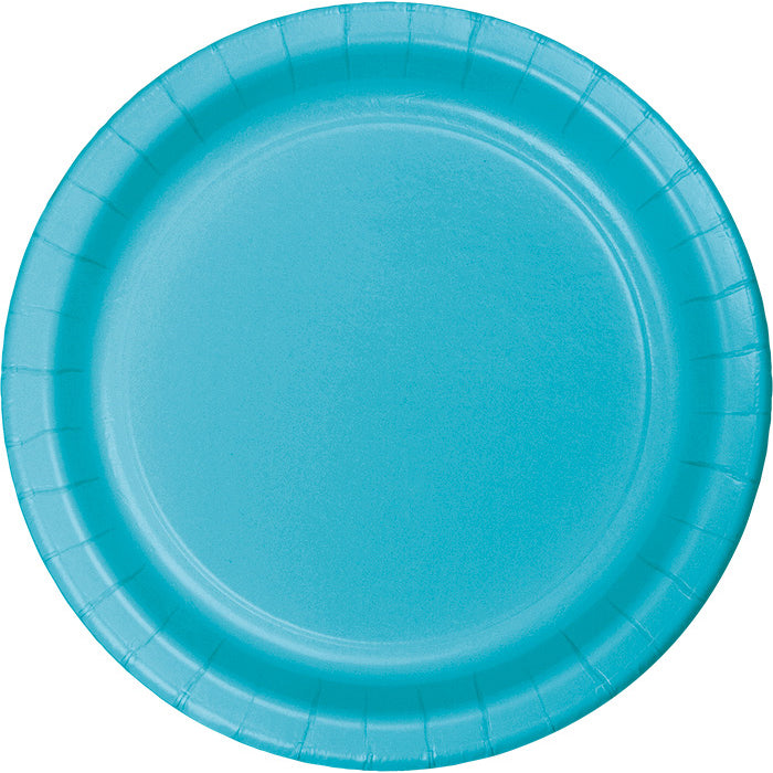 Bermuda Blue Banquet Plates, 24 ct by Creative Converting