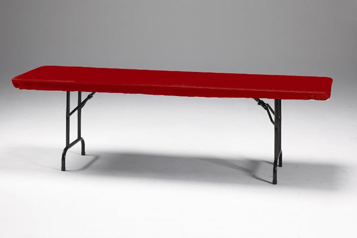 "Stay Put Tablecover Red, 30"" X 96"" by Creative Converting"