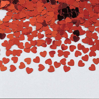 Red Heart Confetti, 0.5 oz by Creative Converting