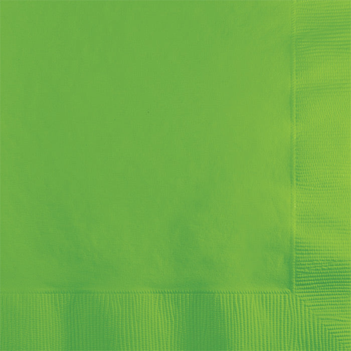 Fresh Lime Beverage Napkin 2Ply, 50 ct by Creative Converting