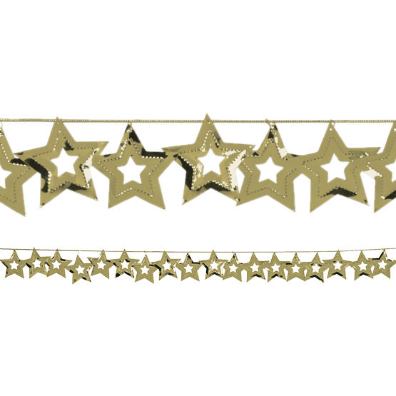 Gold Stars Foil Garland, 9 Ft. by Creative Converting