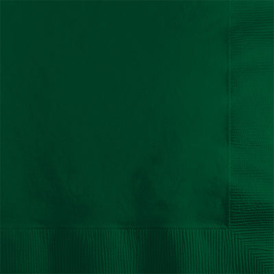Hunter Green Beverage Napkin 2Ply, 50 ct by Creative Converting