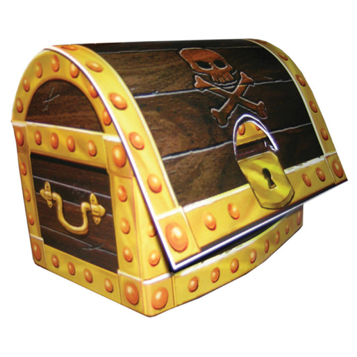 Pirate's Map Treasure Chest Centerpiece by Creative Converting