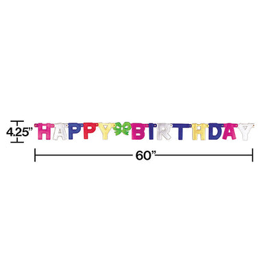 Happy Birthday Party Banner Party Decoration