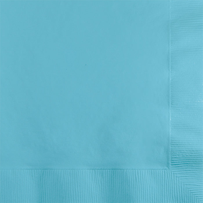 Pastel Blue Beverage Napkin 2Ply, 50 ct by Creative Converting