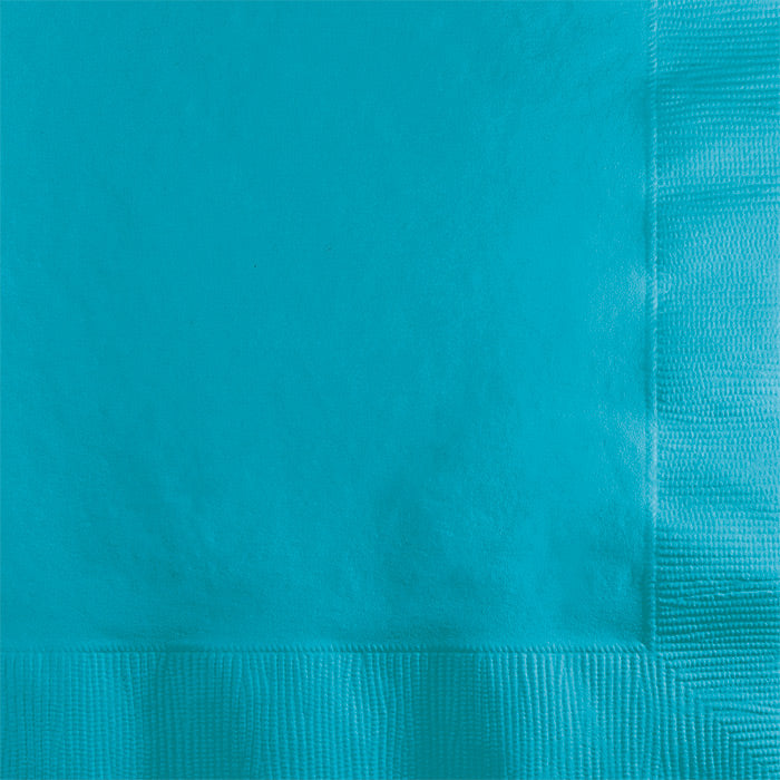 Bermuda Blue Beverage Napkin 2Ply, 50 ct by Creative Converting